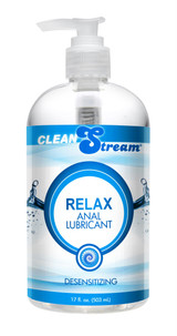Clean Stream Relax Desensitizing Anal Lube - 17.5oz (AC696)