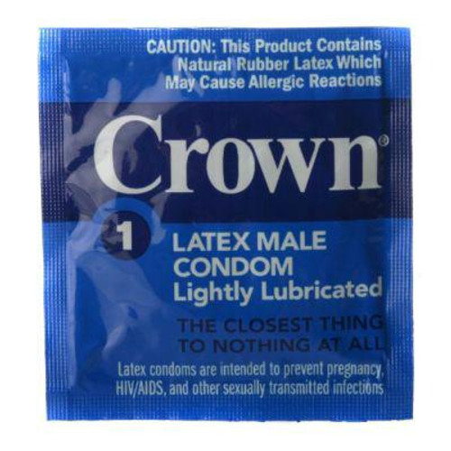 Crown Condoms 24 pack (PS101-24)