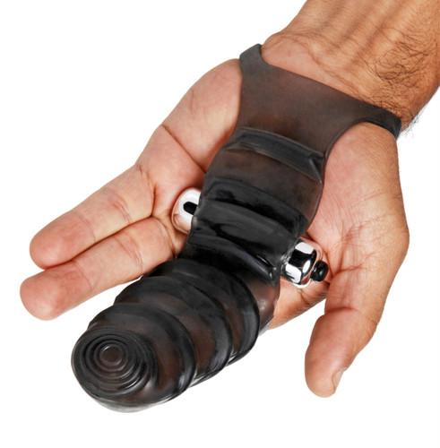 Bang Bang G-Spot Vibrating Finger Glove (AE595)