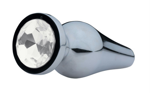 Lucent Bejeweled Aluminum Anal Plug (AE732)