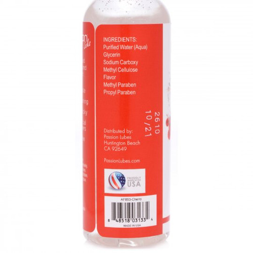 Cherry Flavored Lubricant 2oz (packahed)