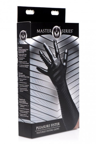 Pleasure Fister Textured Fisting Glove (packaged)