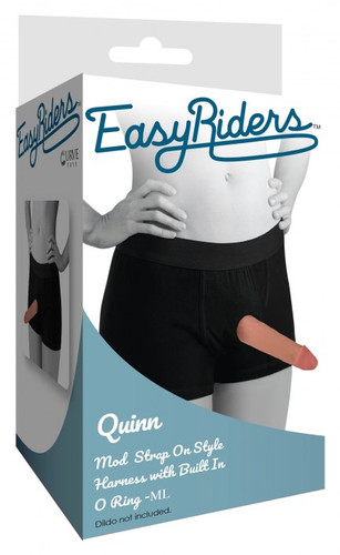 Quinn Strap-on Harness with Built-in O-ring (packaged)
