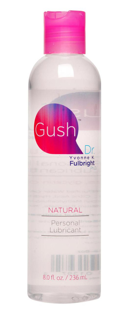 Gush by Dr Yvonne Fulbright Personal Lubricant- 8 oz (AD825-8oz)