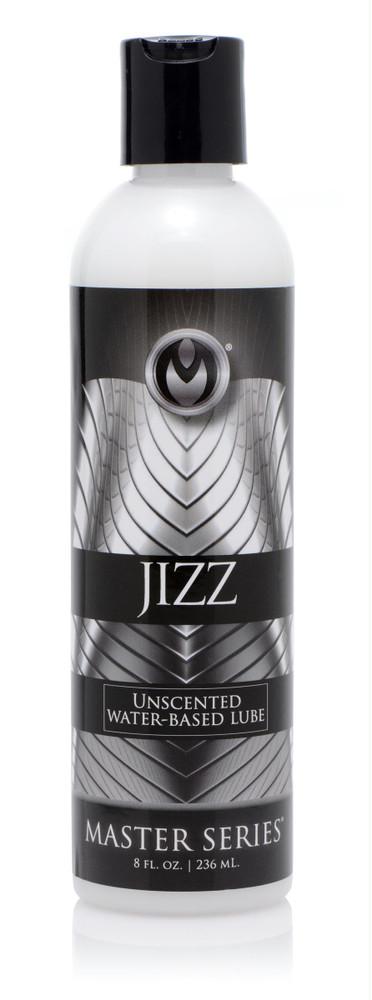 Jizz Unscented Water-Based Lube 8oz (AF340)