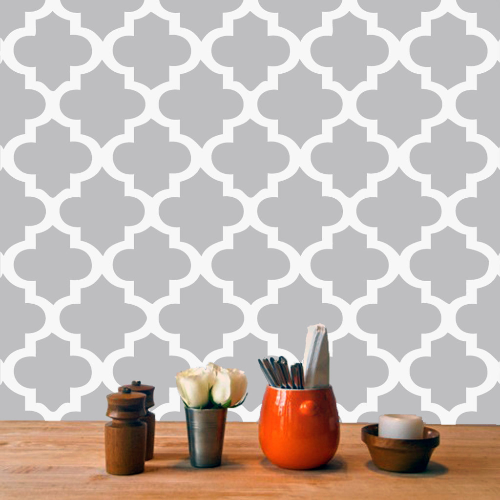 Wall Sticker Tiles Part - 19: Moroccan Tile Wall Decals and Stickers