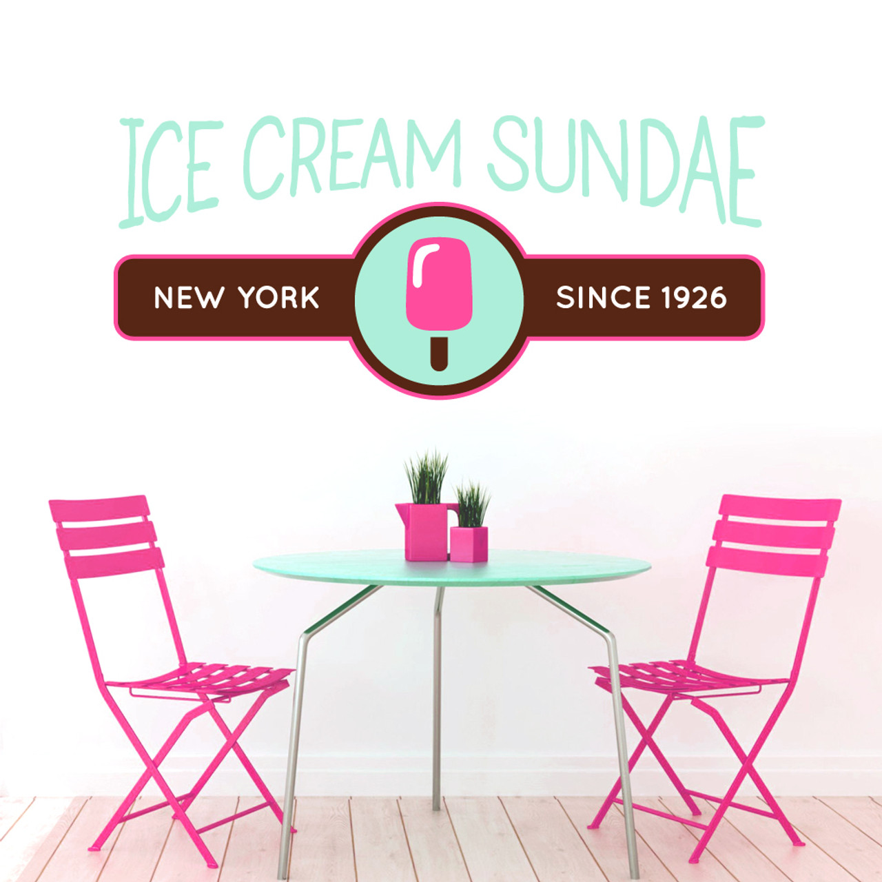 a7a410600 Custom Printed Business Logo Wall Decals Wall Decor Stickers