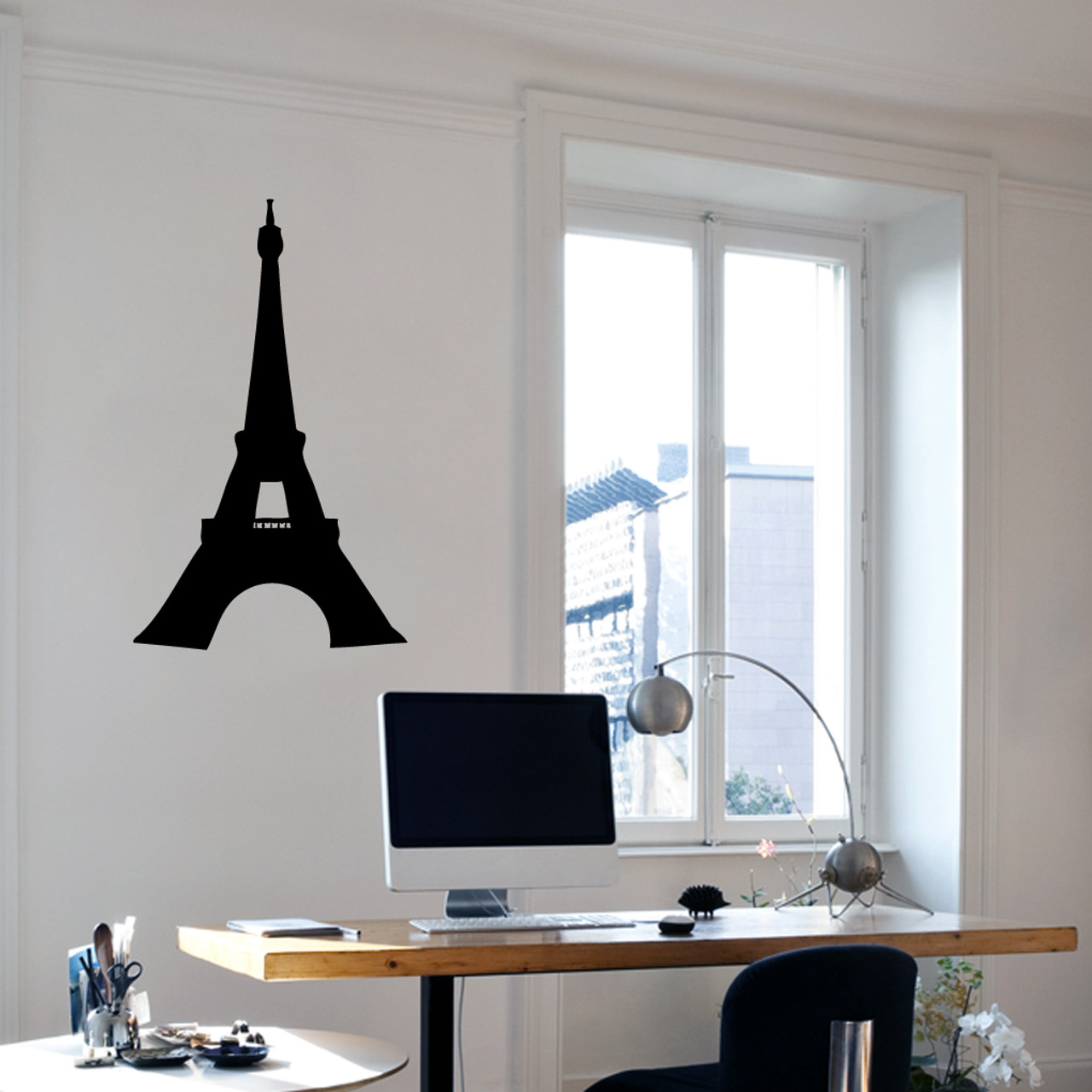 5c20296c7d6 Eiffel Tower Wall Decals Wall Decor Stickers