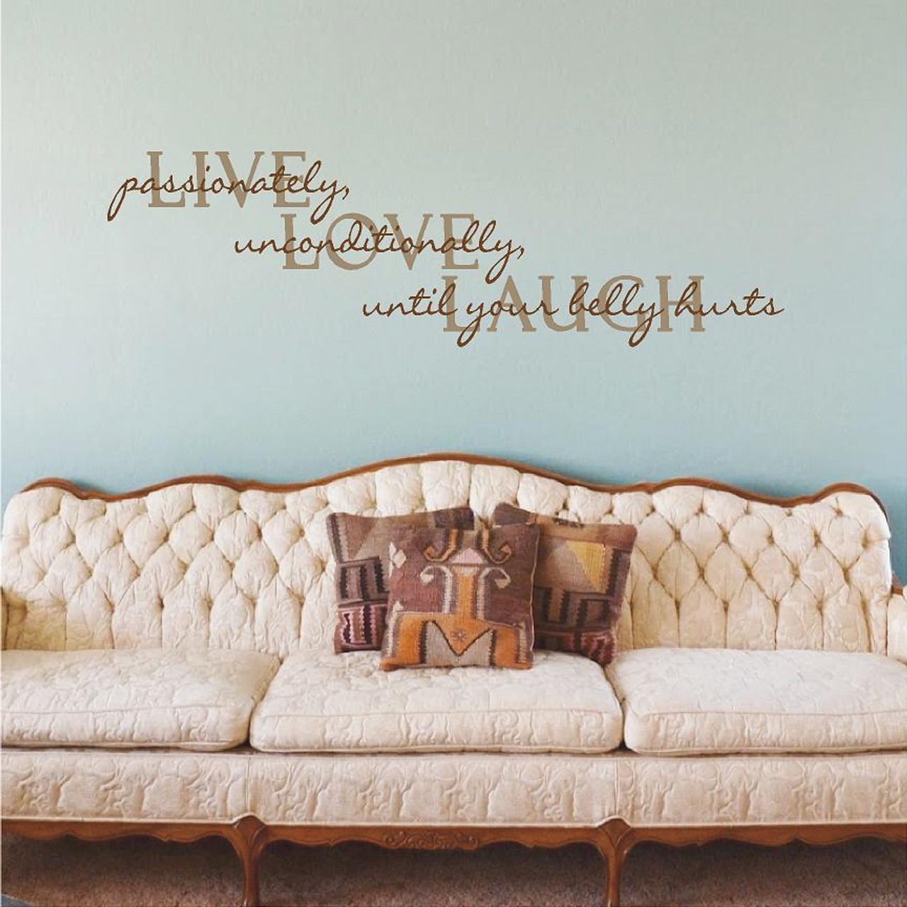 Live Love Laugh Wall Decals Home Decor Wall Decals