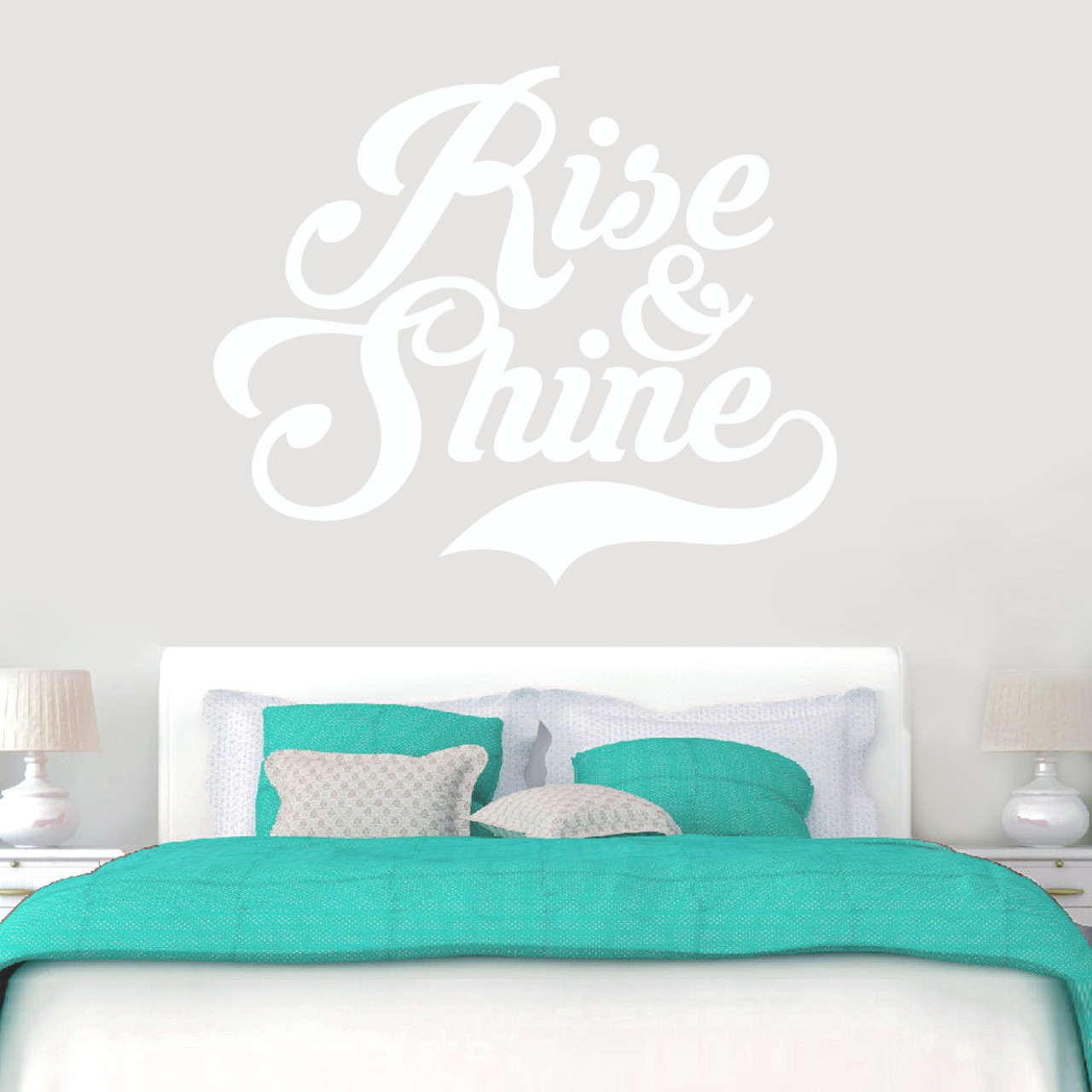 Rise Shine Wall Decal Sweetums Wall Decals Home Decor