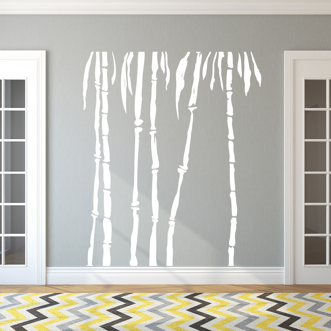 Bamboo Trees Wall Decal Pack