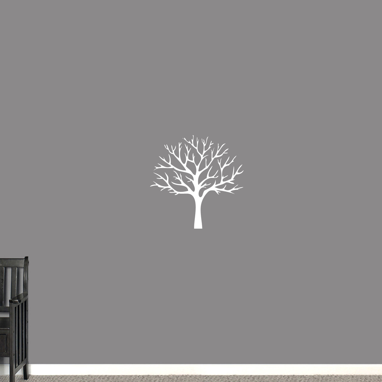 f70396bfcb47 Winter Tree Wall Decal, Bare Tree with Branches Decal, Sweetums ...