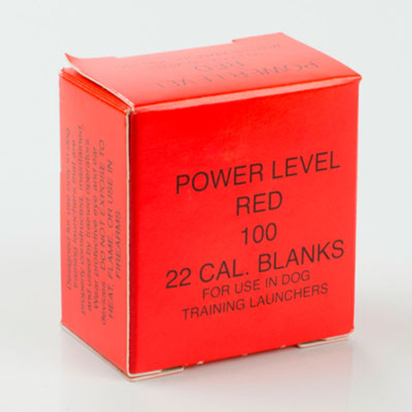 Red Load Blanks Box of 100