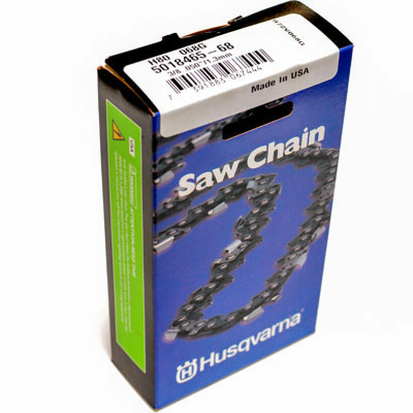 Husqvarna 18in 3/8p 050g H80 Chainsaw Chain Loop 68dl
