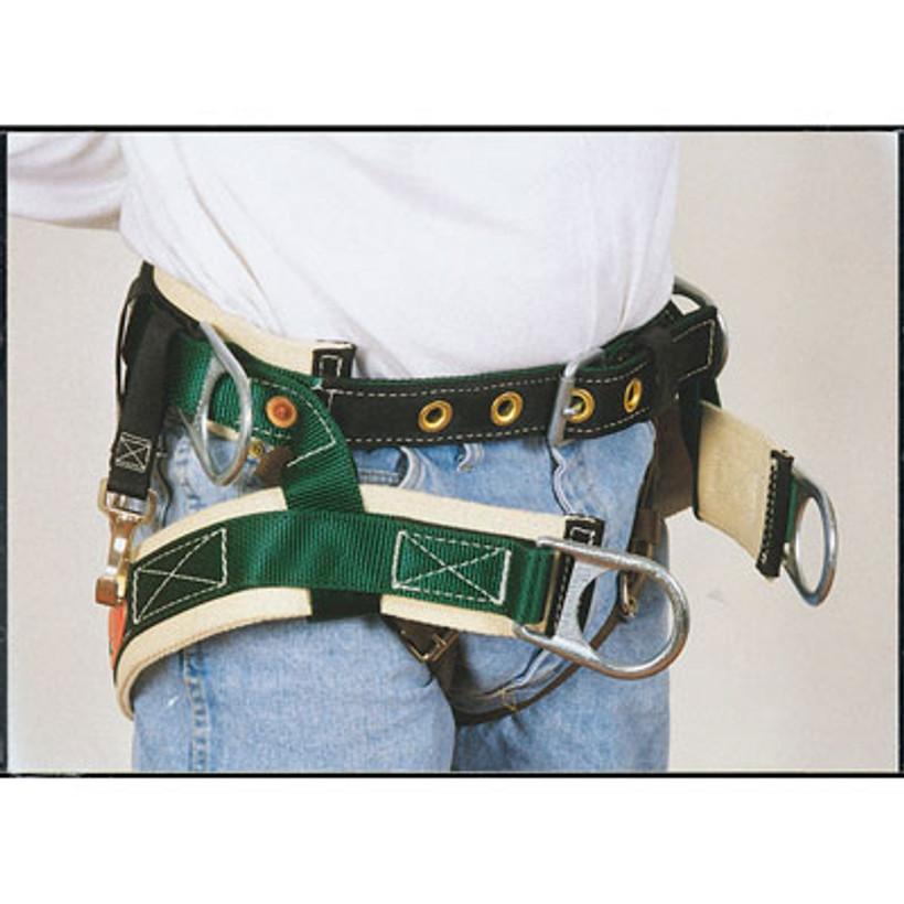 Buckingham 4 Double D Ring Saddle with Leg Straps