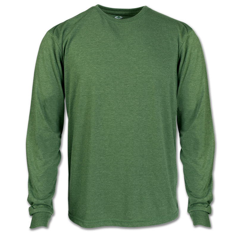 Arborwear Tech Tshirt Long Sleeve Heather Green Medium