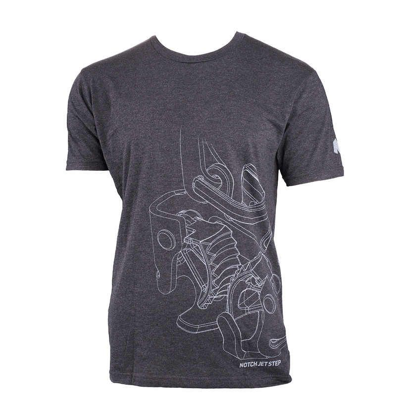 Notch Jet Step T-Shirt XXL