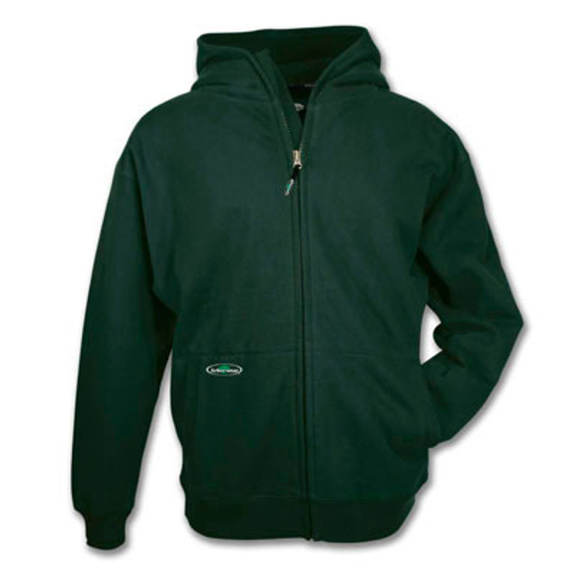 Arborwear Double Thick Full Zip Sweatshirt Forest Green XXL