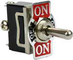 Heavy Duty 20A 125V (ON)-OFF-(ON) SPDT 3 Terminal Momentary 2 SIDE Toggle Switch