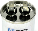 AC Electric Motor Run Capacitor RC0010 - 25 uf (mfd) 370 VAC Round HVAC