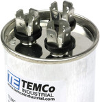 AC Electric Motor Dual Run Capacitor RC0102 - 35/5 uf (mfd) 440 VAC Round HVAC