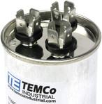 AC Electric Motor Dual Run Capacitor RC0156 - 55/5 Uf (mfd) 440 VAC Round HVAC