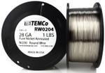 Pure Nickel Wire 28 AWG RW0204 - 1 lb 2090 ft Nickel 200 Ni200 Non-Resistance
