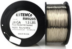 Pure Nickel Wire 28 AWG RW0205 - 1.5 lb 3135 ft Nickel 200 Ni200 Non-Resistance