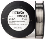 Stainless Steel Wire 24 AWG RW0554 - 8 oz 459 ft SS 316L Non-Resistance AWG