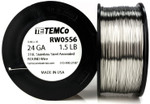 Stainless Steel Wire 24 AWG RW0556 - 1.5 lb 1378 ft SS 316L Non-Resistance AWG