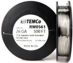 Stainless Steel Wire 26 AWG RW0561 - 500 FT 5.45 oz SS 316L Non-Resistance AWG