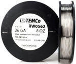 Stainless Steel Wire 26 AWG RW0562 - 8 oz 734 ft SS 316L Non-Resistance AWG