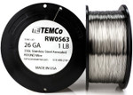 Stainless Steel Wire 26 AWG RW0563 - 1 lb 1468 ft SS 316L Non-Resistance AWG