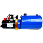 HP0010 12V DC Hydraulic Power Unit/Dump Trailer Pump 6 Qt Power up/Gravity Down (Single Acting)