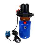 HP0011 12V DC Hydraulic Power Unit/Dump Trailer Pump 6 Qt Power up/Power Down (Double Acting)