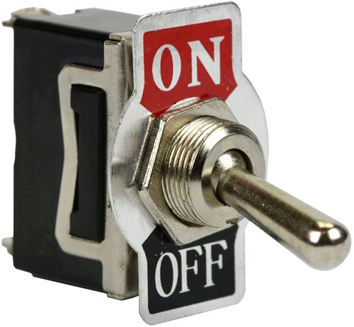 Heavy Duty 20A 125V ON-OFF SPST 2 Terminal Toggle Switch