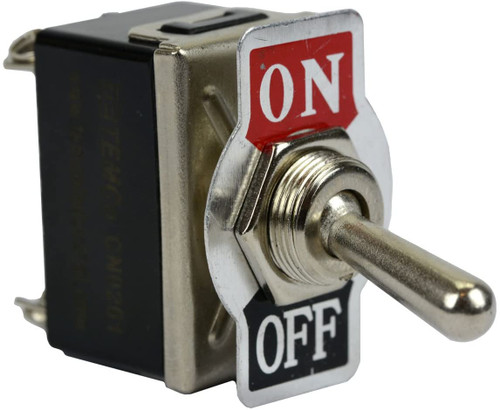 Heavy Duty 20A 125V ON-OFF DPST 4 Terminal Toggle Switch