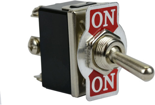 Heavy Duty 20A 125V ON-ON DPDT 6 Terminal Toggle Switch