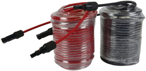 Inverter TEMCo 8 AWG//Gauge Solar Cable Welding RV Variety of Lengths Available Car Made in The USA 10 Feet Red