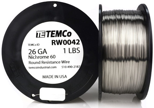 26 AWG 1 lb Nichrome 60 resistance wire.