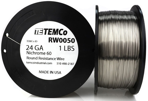 24 AWG 1 lb Nichrome 60 resistance wire.