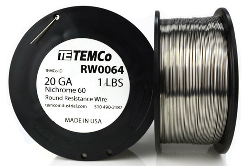 20 AWG 1 lb Nichrome 60 resistance wire.