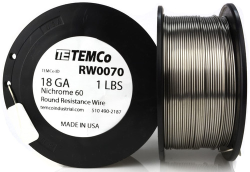 18 AWG 1 lb Nichrome 60 resistance wire.