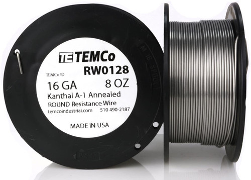 16 AWG 8 oz Kanthal A-1 round resistance wire.