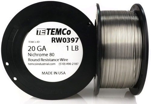 20 AWG 1 lb Nichrome 80 resistance wire.