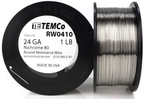 24 AWG 1 lb Nichrome 80 resistance wire.