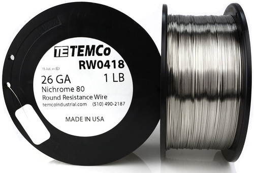26 AWG 1 lb Nichrome 80 resistance wire.