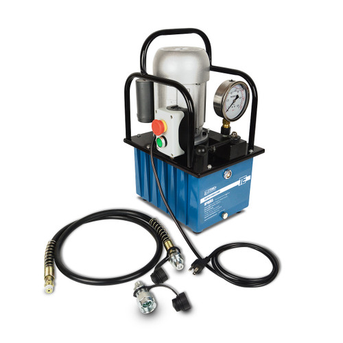 HP0005 - Electric Hydraulic Pump Power Pack Unit 2 Stage Single Acting 110v 10k psi 488 Cubic in Capacity