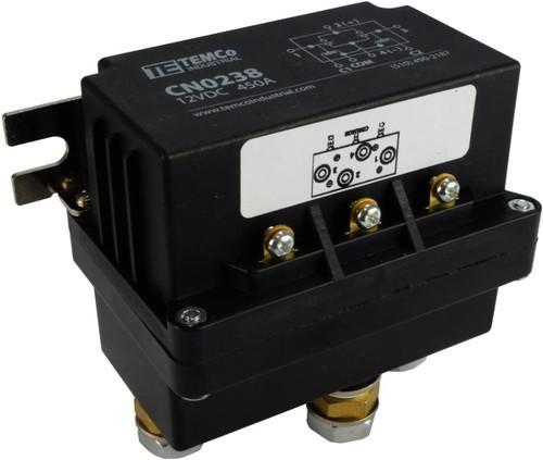 450 Amps DC Winch Motor Reversing Solenoid Relay Switch 12 Volt Contactor