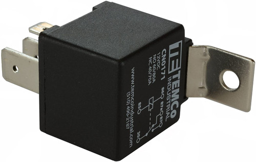 Bosch Style Automotive Relay CN0171 - 1 Qty 12 V 60/80 Amp SPDT